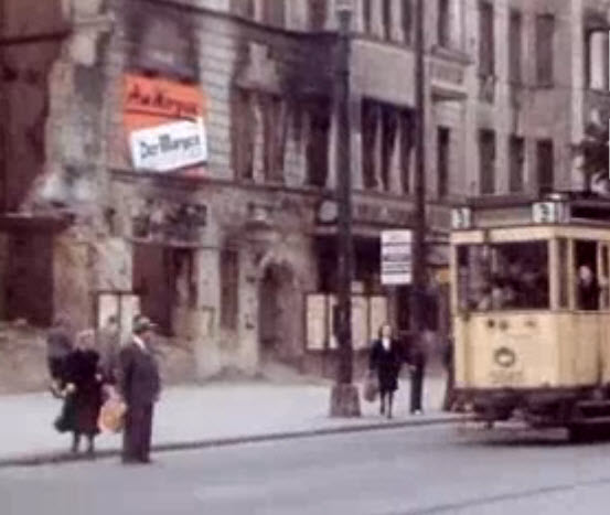 Occupied Berlin after WW2
